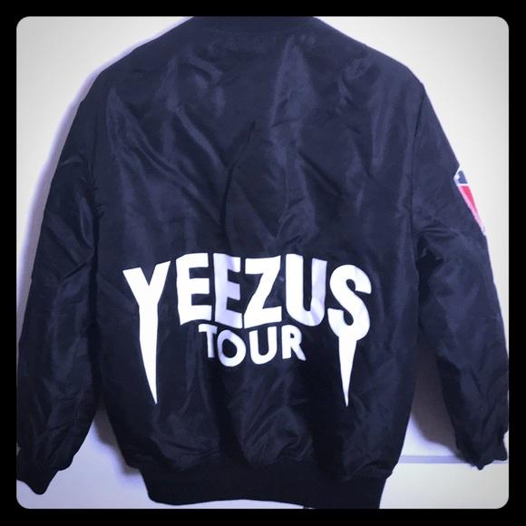 dabe77b0f Kanye Limited Edition Yeezus Tour Bomber Jacket. M 5b4cedd87c979d4d25a44735